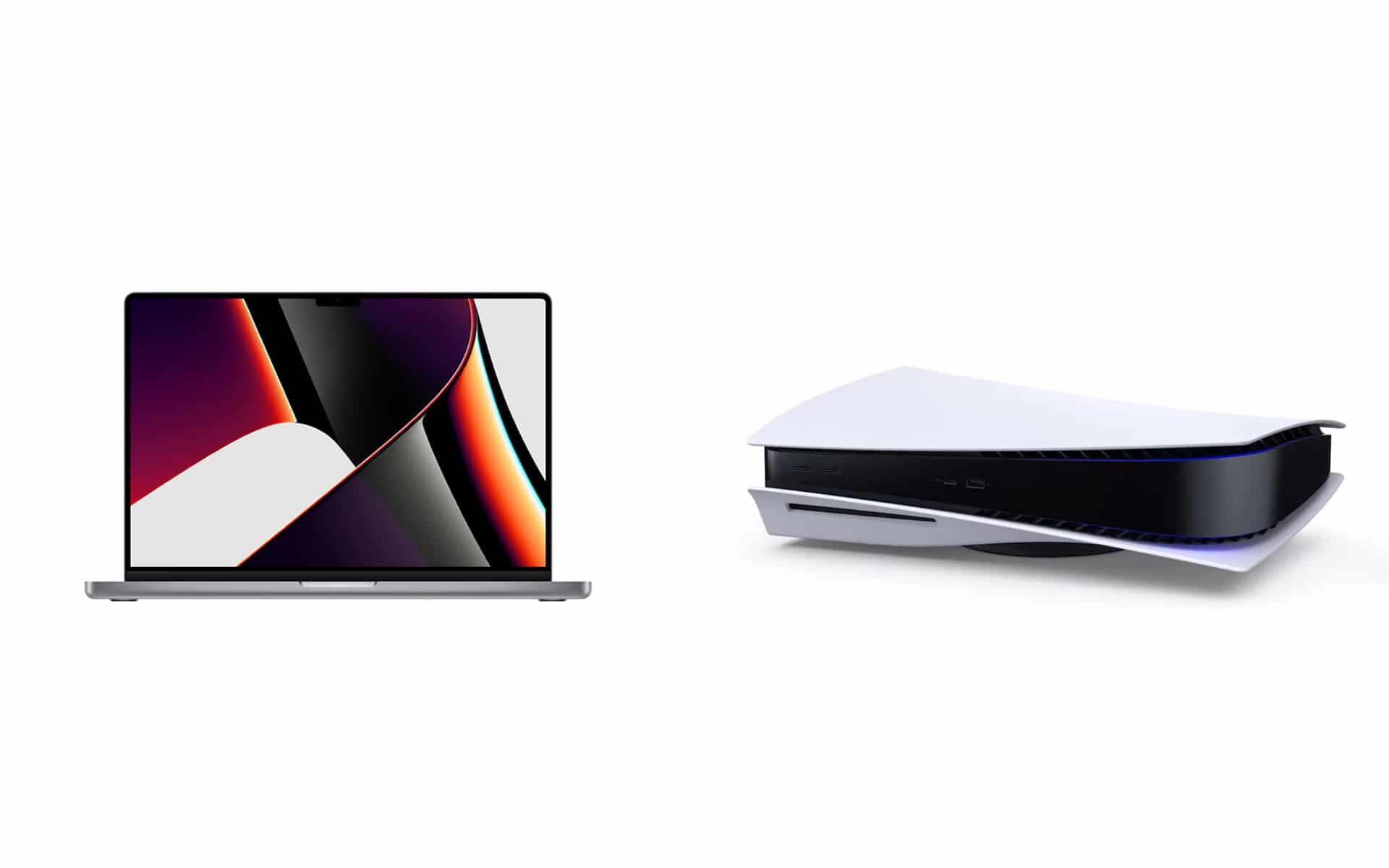 MacBook Pro PS5