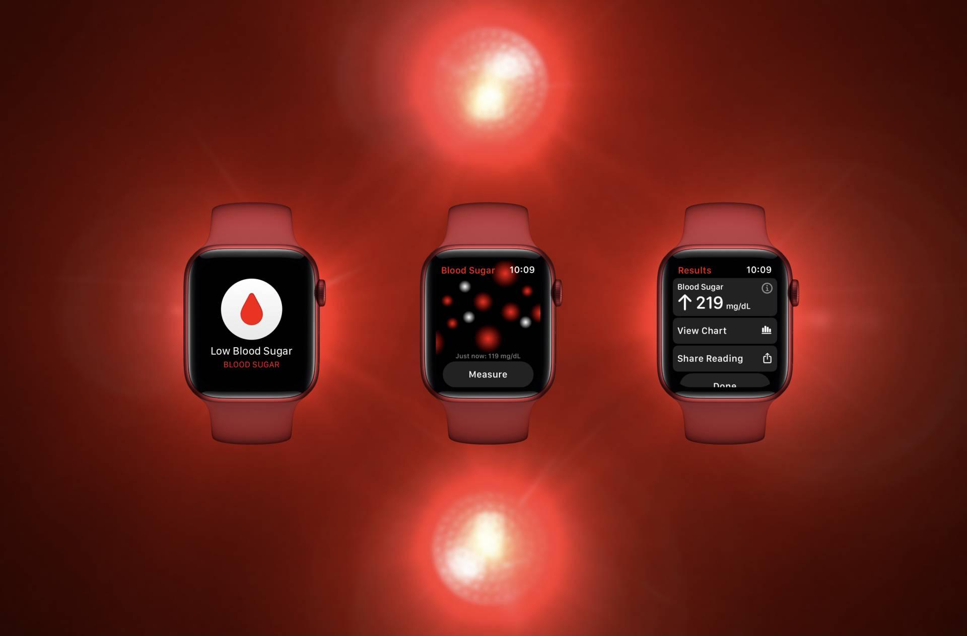 Apple Watch glucose