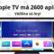 Apple TV má už viac ako 2600 aplikácií!